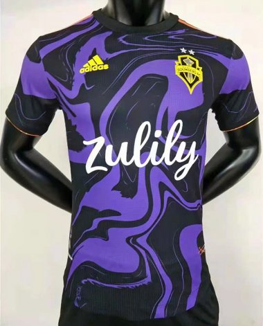 2122 Seattle Sounders away player version soccer jersey