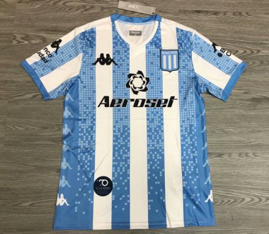 **20-21 Racing Club Home Soccer jersey