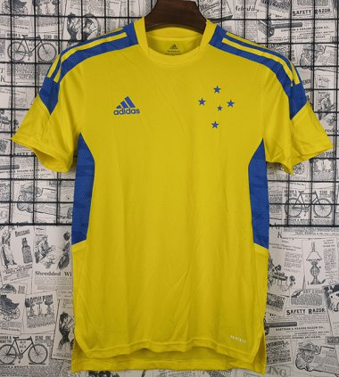 #2122 Cruzeiro Yellow Training suit