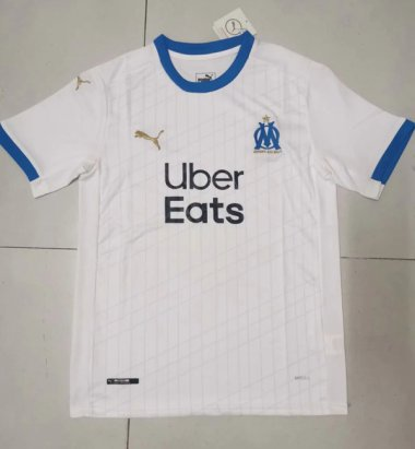 **20-21 Marseille home Soccer jersey