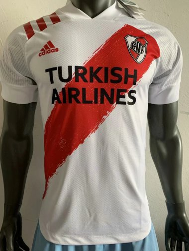 **2021 River Plate Home Player version Soccer jersey