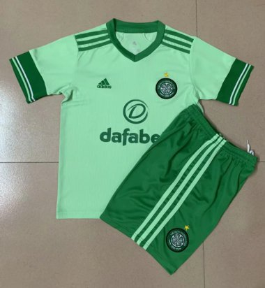 2021 Celtic away green kids kit