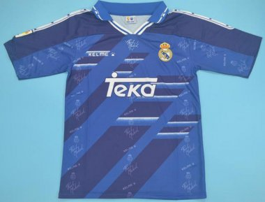 #94-96 Real madrid away Soccer jersey