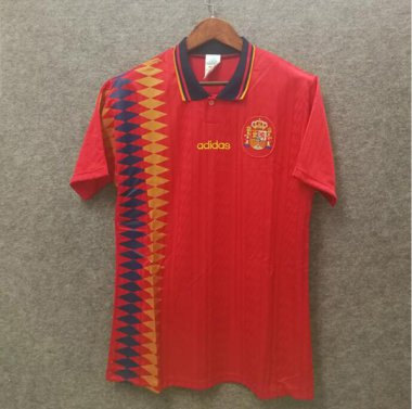 *1994 Spain Home Soccer jersey