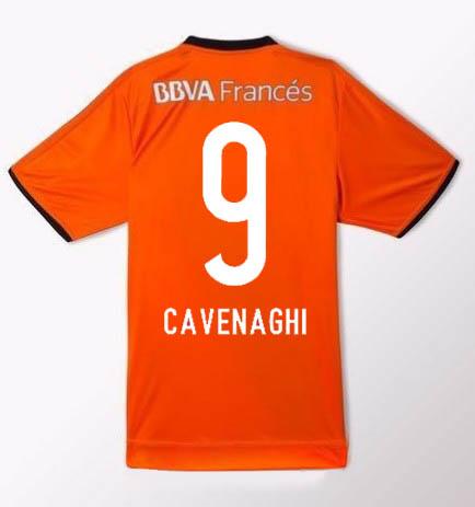 River Plate 2016 Away third orange kit Soccer jersey Football shirt ... d380cb3ed
