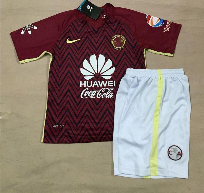 c444ec99349 Mexico Club America 2016 17 Away Kids Soccer jersey - $17.00 ...