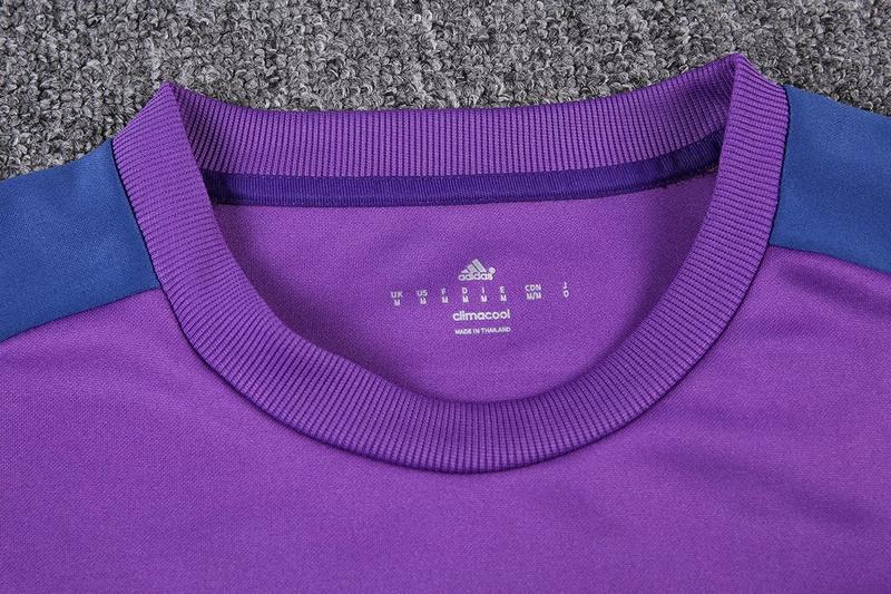 cb46d48c999 Real Madrid 16 17 Soccer Training suit Sweatshirt + Pants purple ...