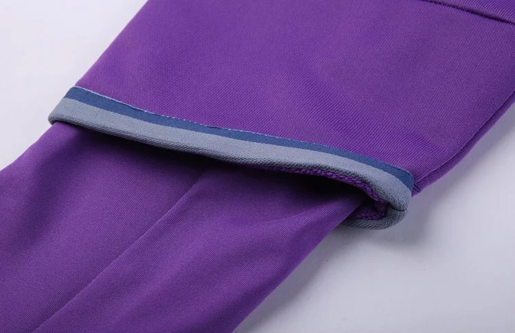 59b385979fd Real Madrid 16 17 purple Soccer Training suit Sweatshirt + Pants ...