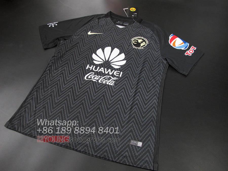 536f9d9afba Mexico Club America 16 17 Away Third Soccer jersey Football shirt ...
