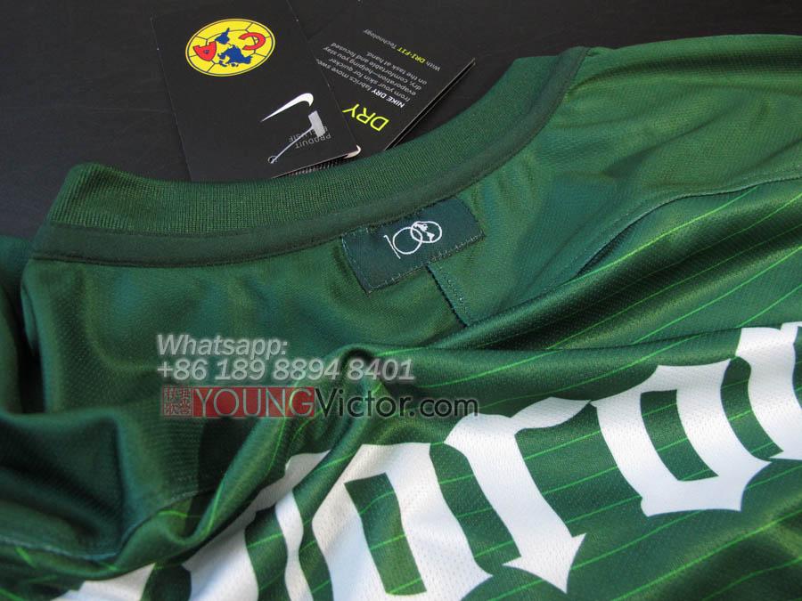 5d57f710844cc Mexico Club America 16 17 Away Third Soccer jersey green -  19.00 ...