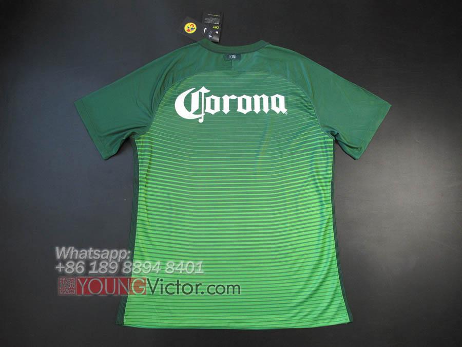1338b320448 Mexico Club America 16 17 Away Third Soccer jersey green -  19.00 ...