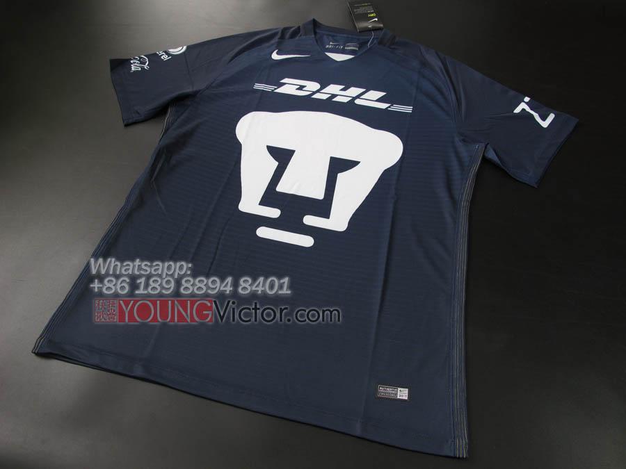 7d7319b9e Mexico Pumas UNAM 2017 New Away Soccer jersey Football Shirt ...
