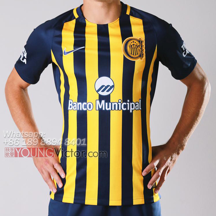 Rosario Central 2017 New Home Soccer jersey -  19.00   youngvictor.ru b00790000