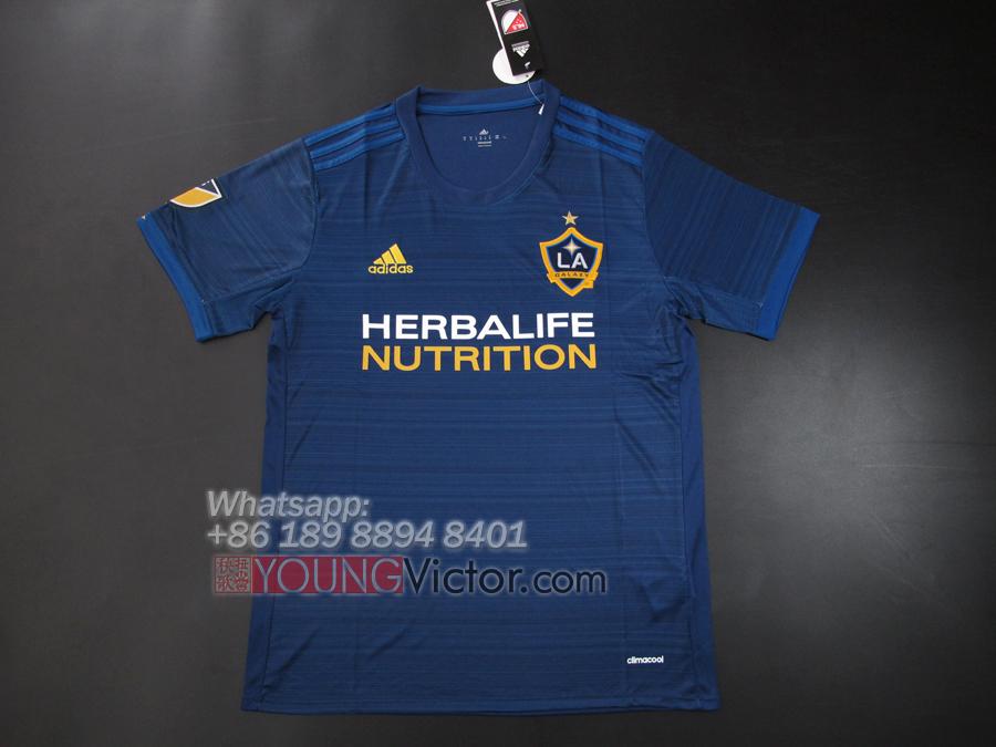 sports shoes f0513 417f1 LA Galaxy 2017 18 Away kit MLS Soccer jersey - $19.00 ...