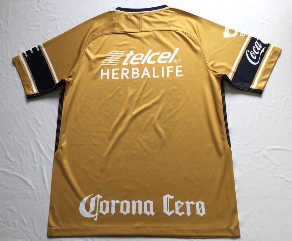 c1d5c9b0786 2018 Mexico Pumas UNAM 18 19 Away Third Soccer jersey - $17.00 ...
