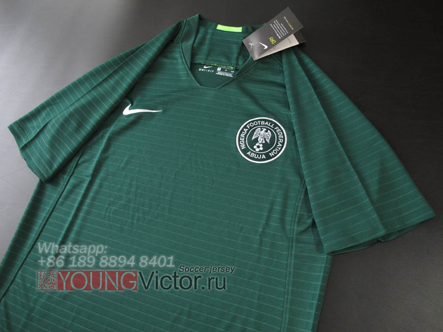 4863e836e76 2018 World Cup 17 18 Nigeria Away Soccer jersey - $17.00 ...