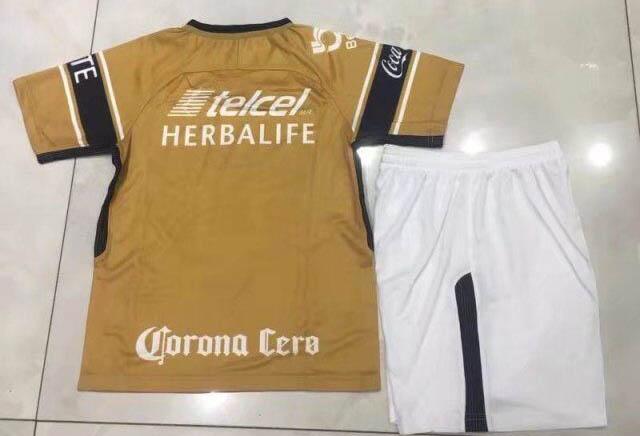 ebfd499208b 2018 Mexico Pumas UNAM 18 19 Away Third Kids Soccer jersey -  15.00 ...