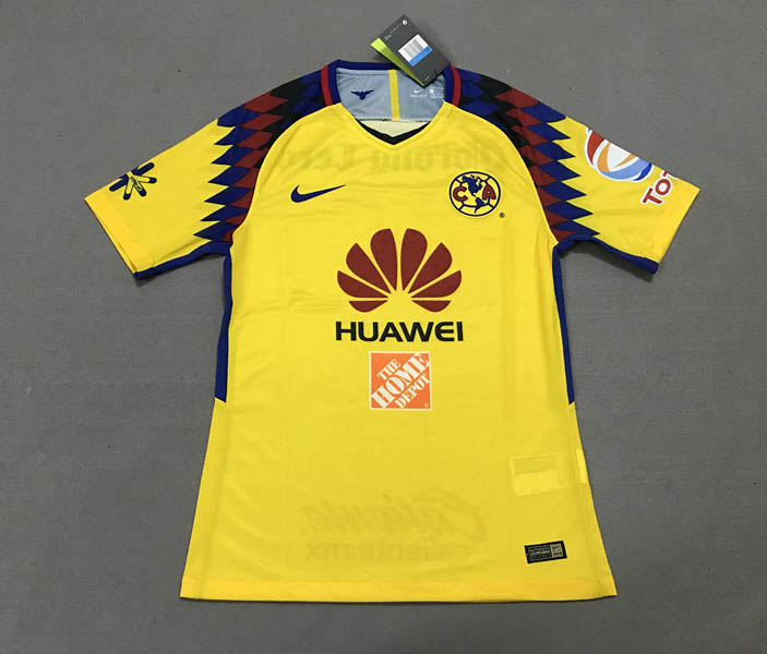 18 19 Club America 2018 Away third Player version Soccer jersey ... ee17955f6