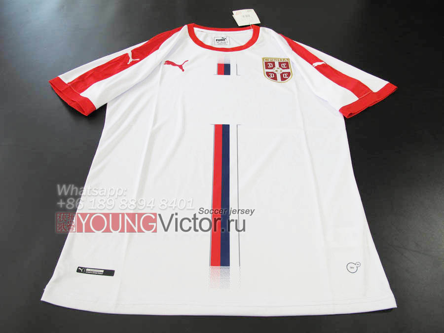 6f5ec5db8 2018 World Cup Serbia 18 19 Away Soccer jersey -  17.00   youngvictor.ru