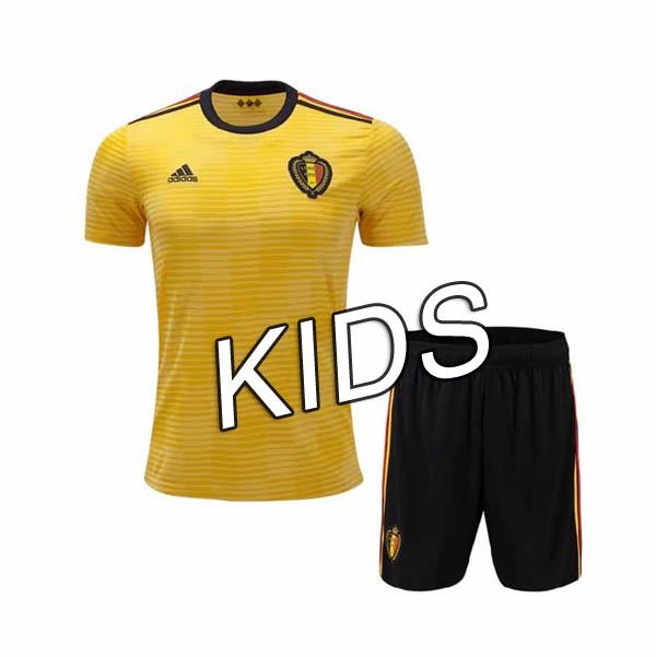88b2f27e603 2018 World Cup Belgium 18 19 Away Kids Soccer jersey -  15.00 ...