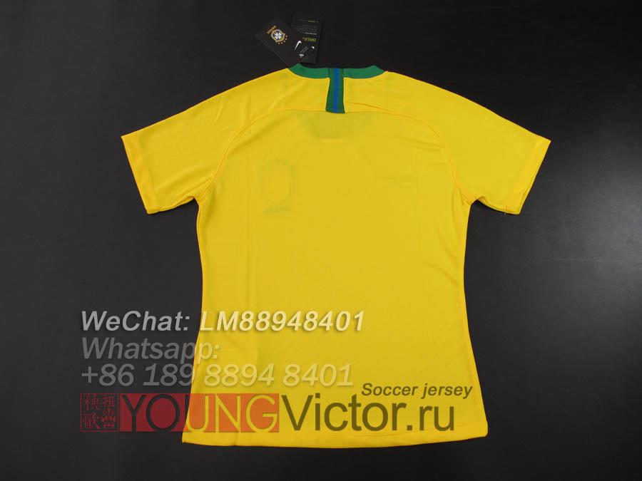 494165abb 2018 World Cup Brazil 18 19 Home Women s Soccer jersey -  15.00 ...
