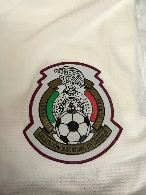 0a261774fbb 2018 World Cup Mexico 1819 Away Long sleeve Player version Soccer jersey