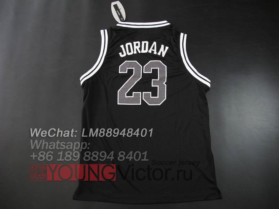 91ce4504461 18 19 Paris Saint Germain Jordan 23 PSG jersey black -  17.00 ...